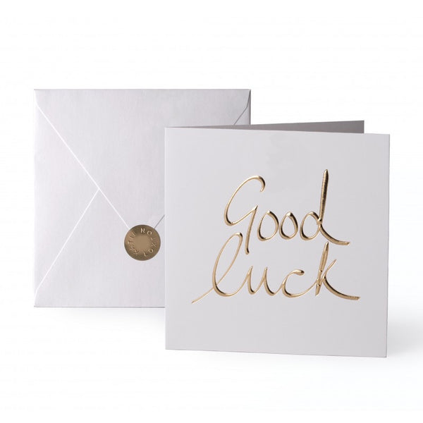 Katie Loxton Greetings Card - Good Luck