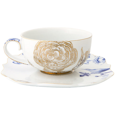 PiP Studio Royal White Teacup & Saucer