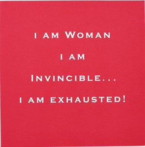 Susan O'Hanlon Card - I Am Woman