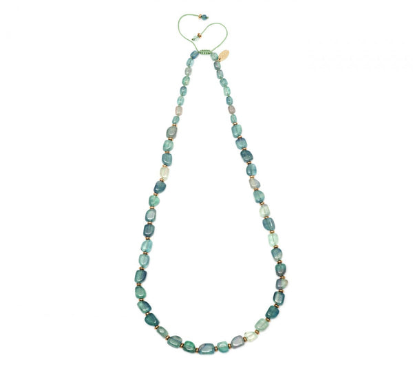 Lola Rose Apollo Necklace - Emerald Green Flourite