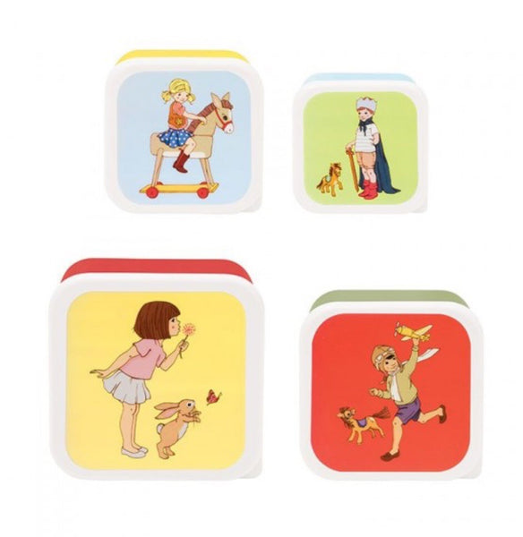 Belle & Boo 4 Snack Boxes