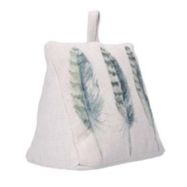 Gisela Graham Feather Print Doorstop