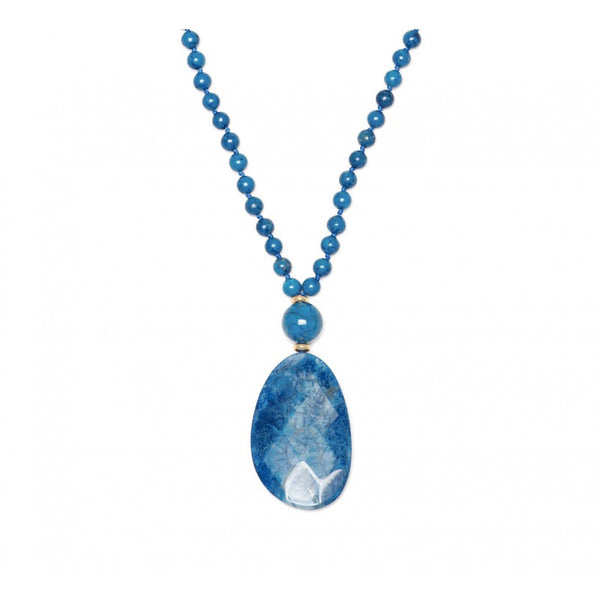 Lola Rose Kobi Necklace - Sky Blue Magnesite