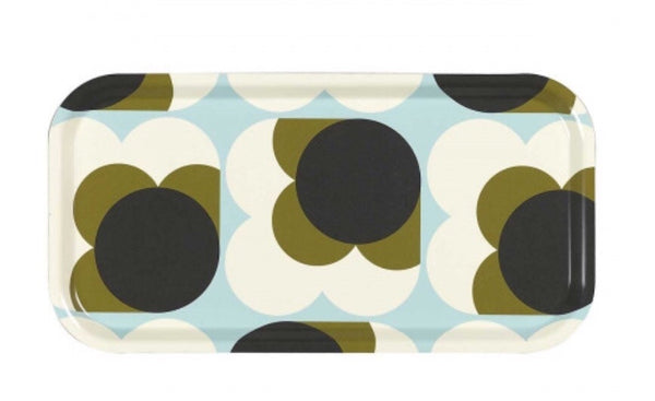 Orla Kiely - Big Spot Flower Tea Tray Blue