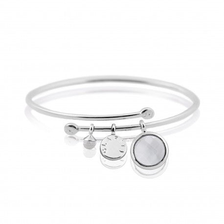 Joma Jewellery Clarity Story Bangle