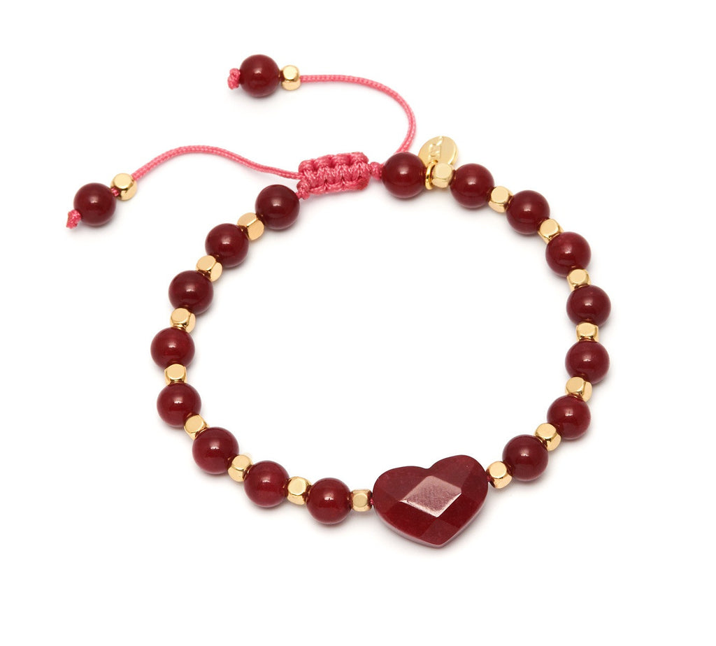 Lola Rose Larah Bracelet - Red Plum Quartzite