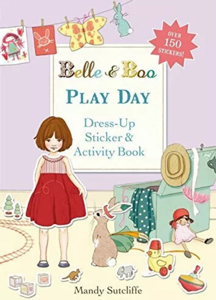 Belle & Boo 'Play Day' Sticker Book (Paperback)