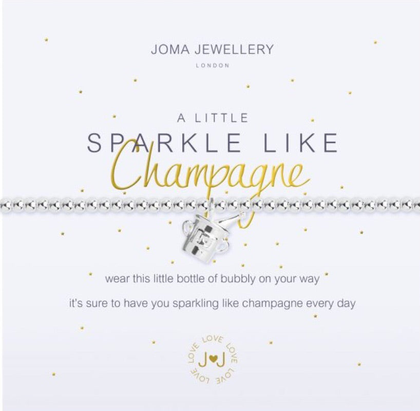 Joma Jewellery A Little Sparkle Like Champagne Bracelet