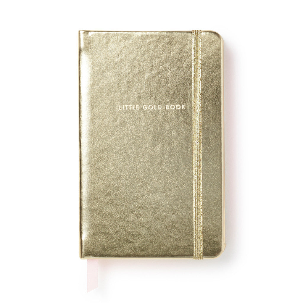 Kate Spade New York Take Note Medium Notebook - Little Gold Book