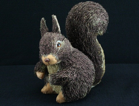 Brown Glitter Bristle Squirrel