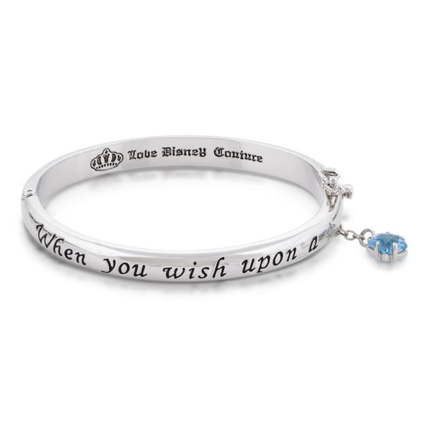 Disney Couture Platinum Wish Upon a Star Bangle
