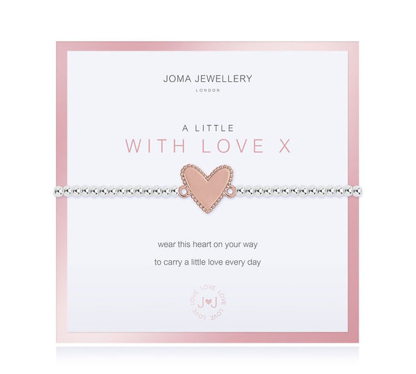 Joma Jewellery - A Little With Love Bracelet - Boxed