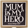Emma Bridgewater Black Toast 'Mum Is My Hero' 1/2 Pint Mug (Boxed)