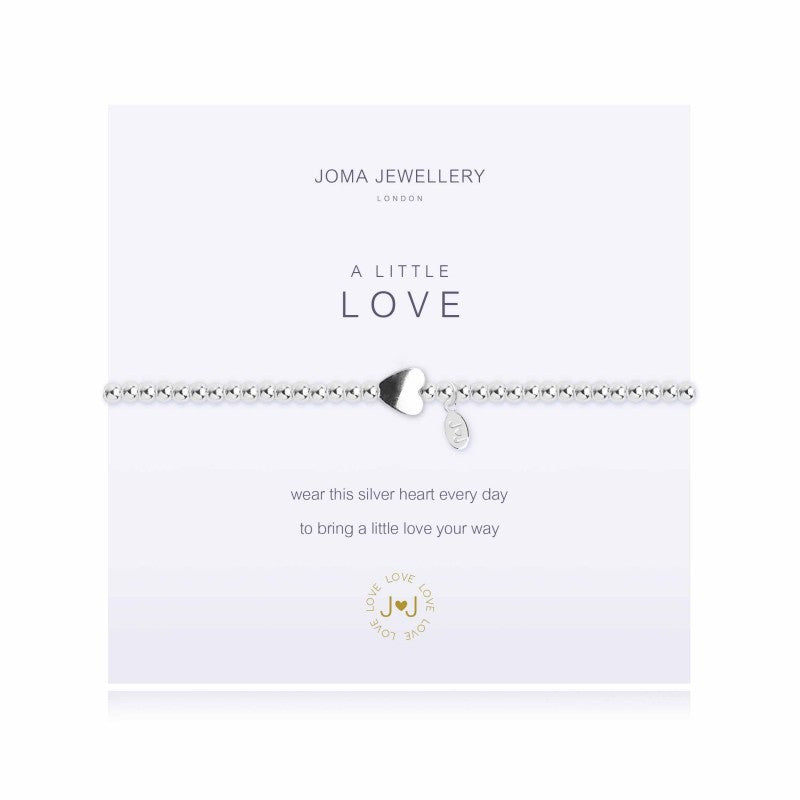 Joma Jewellery A Little Love Bracelet - Silver Heart