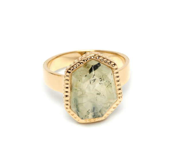 Lola Rose Boutique Zari Ring - Prehnite