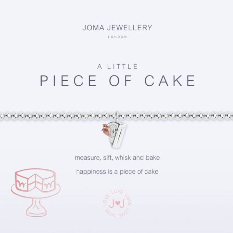 Joma Jewellery A Little Piece Of Cake Bracelet