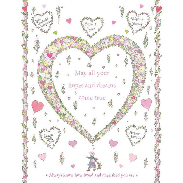 The Porch Fairies Limited Edition Art Print - Loved & Cherished