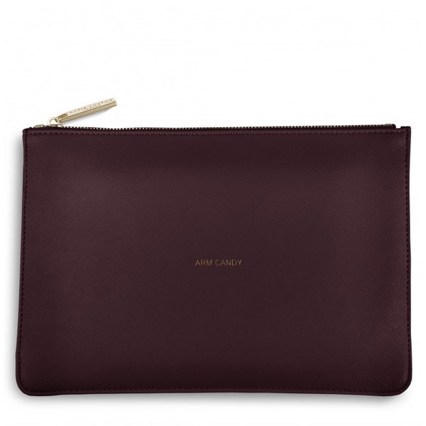 Katie Loxton Perfect Pouch - Arm Candy (Burgundy)