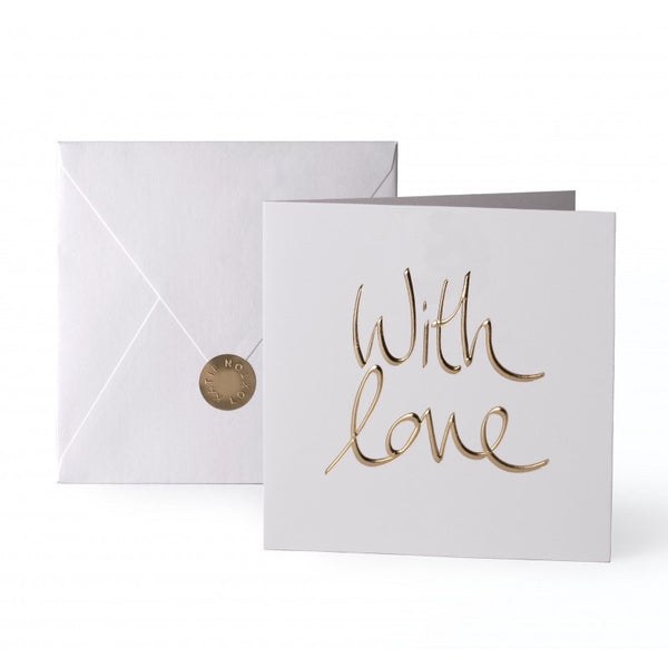Katie Loxton Greetings Card - With Love