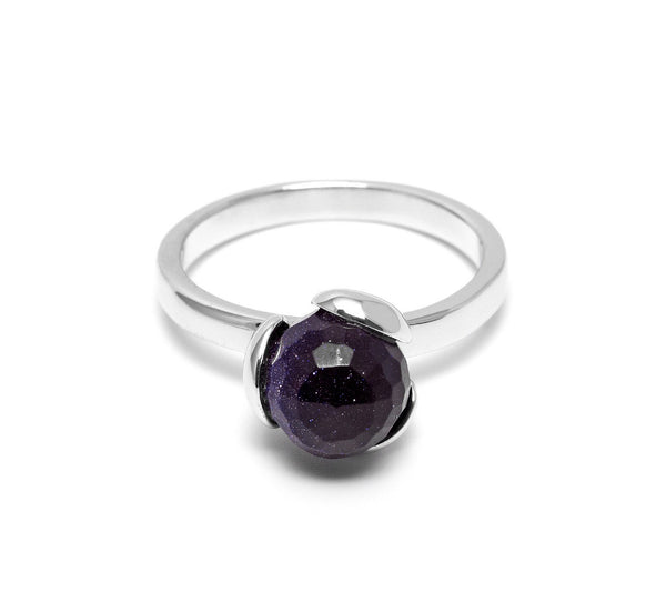Lola Rose Boutique Bettina Ring - Blue Sandstone