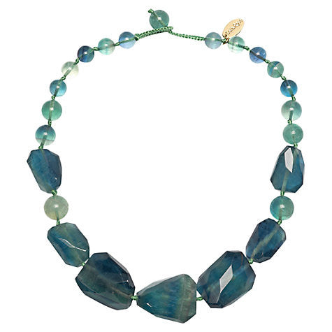 Lola Rose Baltazar Necklace - Emerald Green Flourite