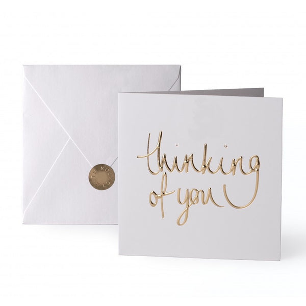 Katie Loxton Greetings Card - Thinking of You