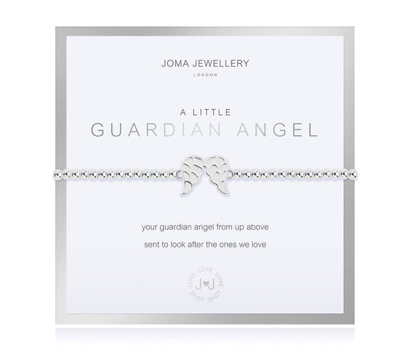 Joma Jewellery - A Little Guardian Angel Bracelet - Boxed