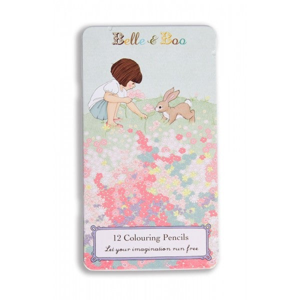 Belle & Boo Belle's Meadow Colouring Pencil Tin