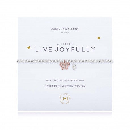 Joma Jewellery A Little Live Joyfully Bracelet