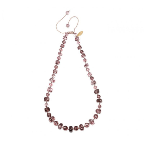 Lola Rose Mobi Necklace - Brown Sugar Rock Crystal