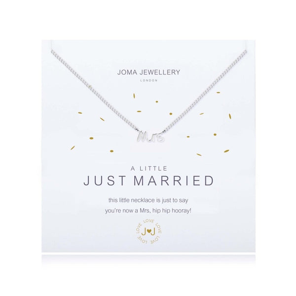 Joma Jewellery A Little Just Married Necklace