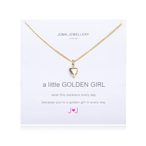 Joma Jewellery A Little Golden Girl Necklace