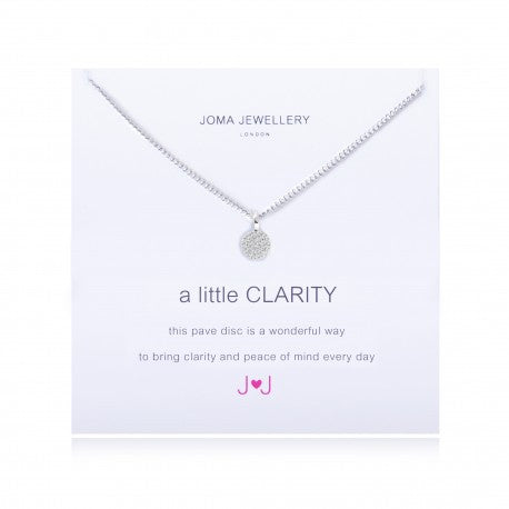 Joma Jewellery A Little Clarity Necklace