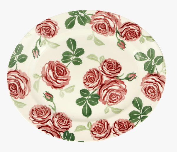 Emma Bridgewater Pink Roses Oval Plate