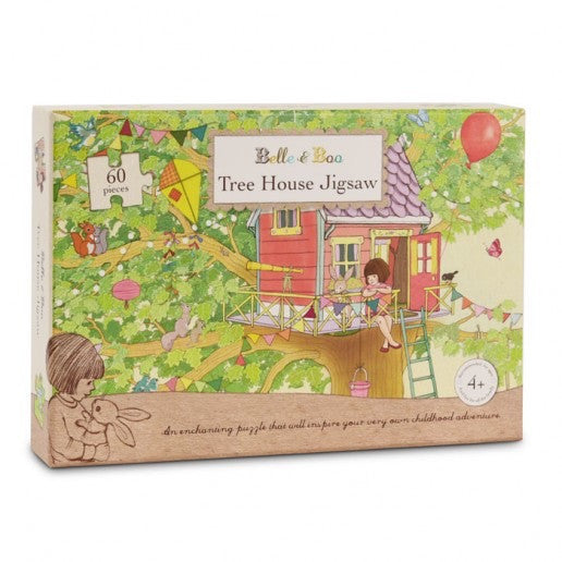Belle & Boo Tree House Jigsaw Puzzle