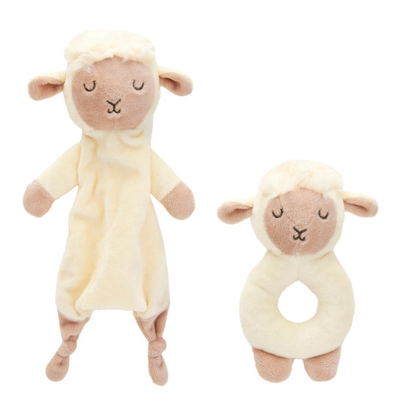 Sass Belle Baa Baa Lamb Comforter And Rattle Set The Lovely Room