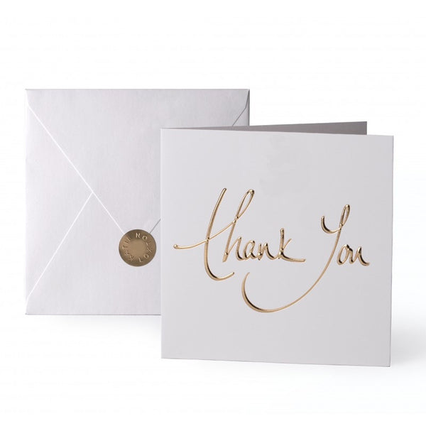 Katie Loxton Greetings Card - Thank You