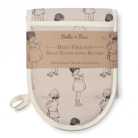 Belle & Boo Best Friends Double Oven Glove