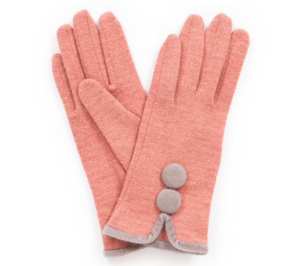 Powder Christabel Wool Gloves