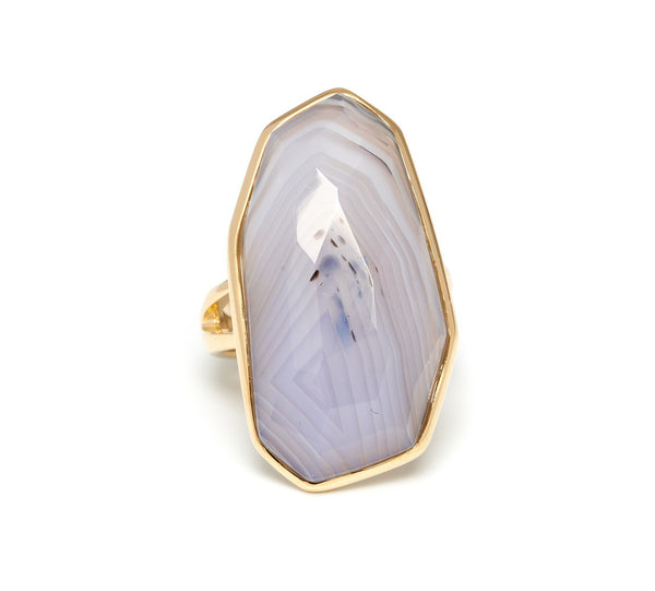 Lola Rose Boutique Delfine Ring - Amethyst