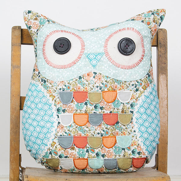 Sass & Belle Clara Owl Cushion