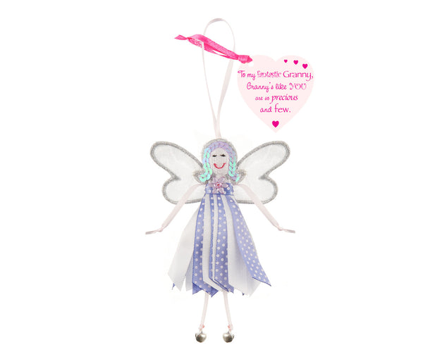 'To My Fantastic Granny' Spotty Quote Fairy