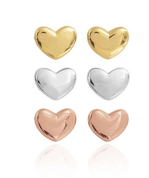 Joma Jewellery -  Florence Set Of 3 Heart Earrings