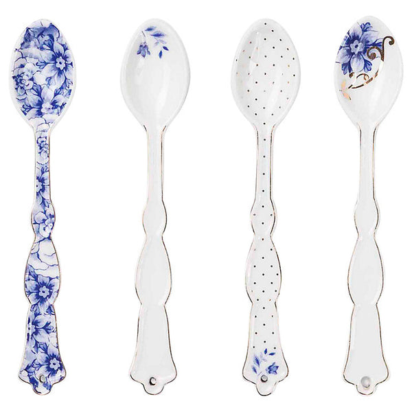 PiP Studio Royal White Set of 4 Teaspoons