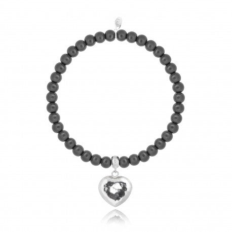 Joma Jewellery Millie Bracelet - Dark Grey