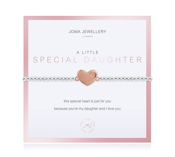 Joma Jewellery - A Little Special Daughter Bracelet - Boxed
