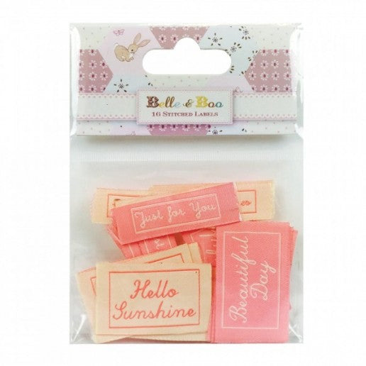 Belle & Boo Stitched Labels