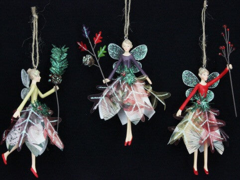 Forest Whispers Resin Fairy Tree Decoration - Medium