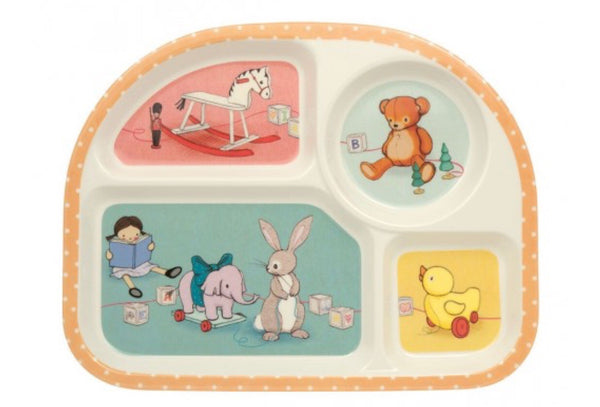 Belle & Boo - Toy Box Section Eating Tray