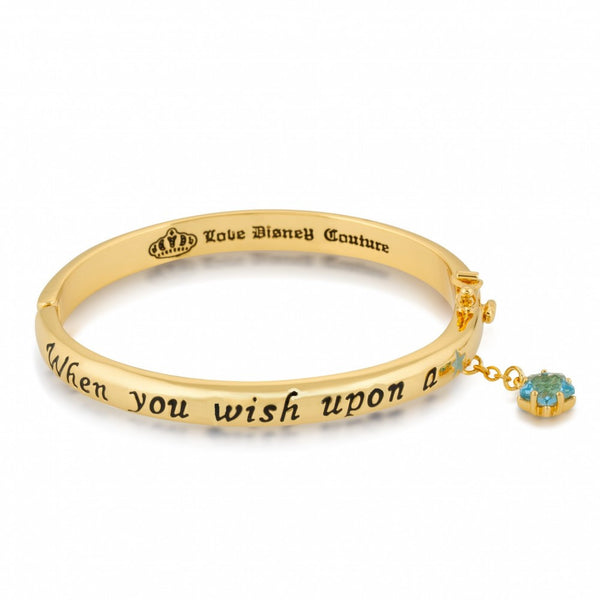 Disney Couture Gold Wish Upon a Star Bangle